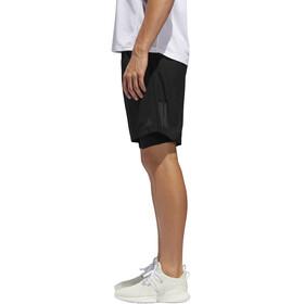 "adidas Own The Run 5"" 2In1 Shorts Men black"